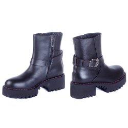Ботинки с пряжкой Marino Fabiani 9381