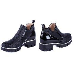 Ботинки шик Luca Verdi 2448 черный