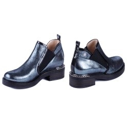 Ботинки блеск Luca Verdi 2448 синий