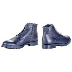 Ботинки синие Dino Bigioni 15268 мех