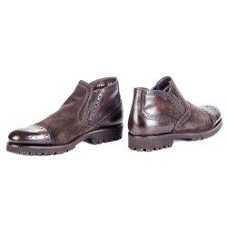 Ботинки шоколад Mario Bruni 10382 мех