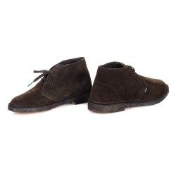 Ботинки CLARKS-2 Francesco CLARKS 1 коричневые